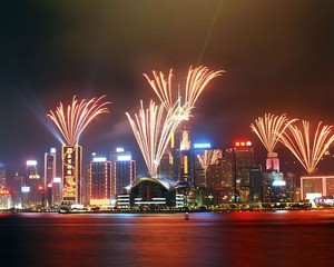 Hong Kong / Hong Kong Island / A Symphony of Lights