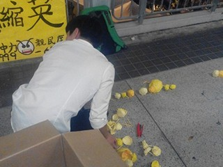Hong Kong / Hong Kong Island / Umbrella Movement 2014
