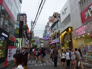 South Korea / Seoul / Hongik & Hongdae