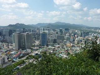 South Korea / Seoul / Namsan & North Seoul Tower
