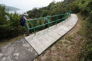 Hong Kong / Lantau Island / Fat Shan Ferry Memorial Stone