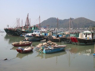 Hong Kong / Lantau Island / Tai-O Fishing Village