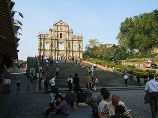 Macau / The Ruins of St Paul`s