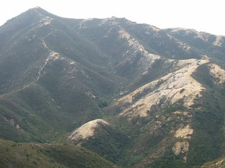 Hong Kong / New Territories / Ha Tsuen Eroded Hills