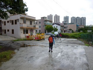 Hong Kong / New Territories / Sha Tau Kok to Brides Pool