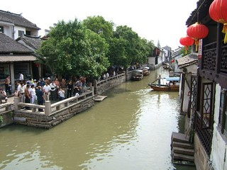 China / Shanghai / Zhouzhuang River Village