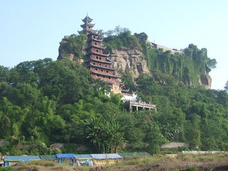 China / Yangtze River / Shibaozhai Pagoda
