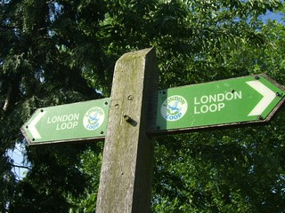 England / London Loop / Coombe Lane Station to Banstead Downs