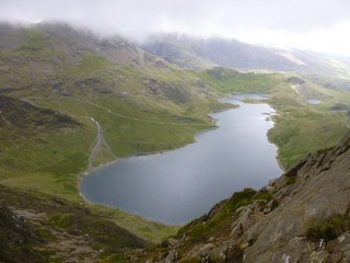 Wales / Snowdonia National Park / Pen-y-Pass to Snowdown Summit